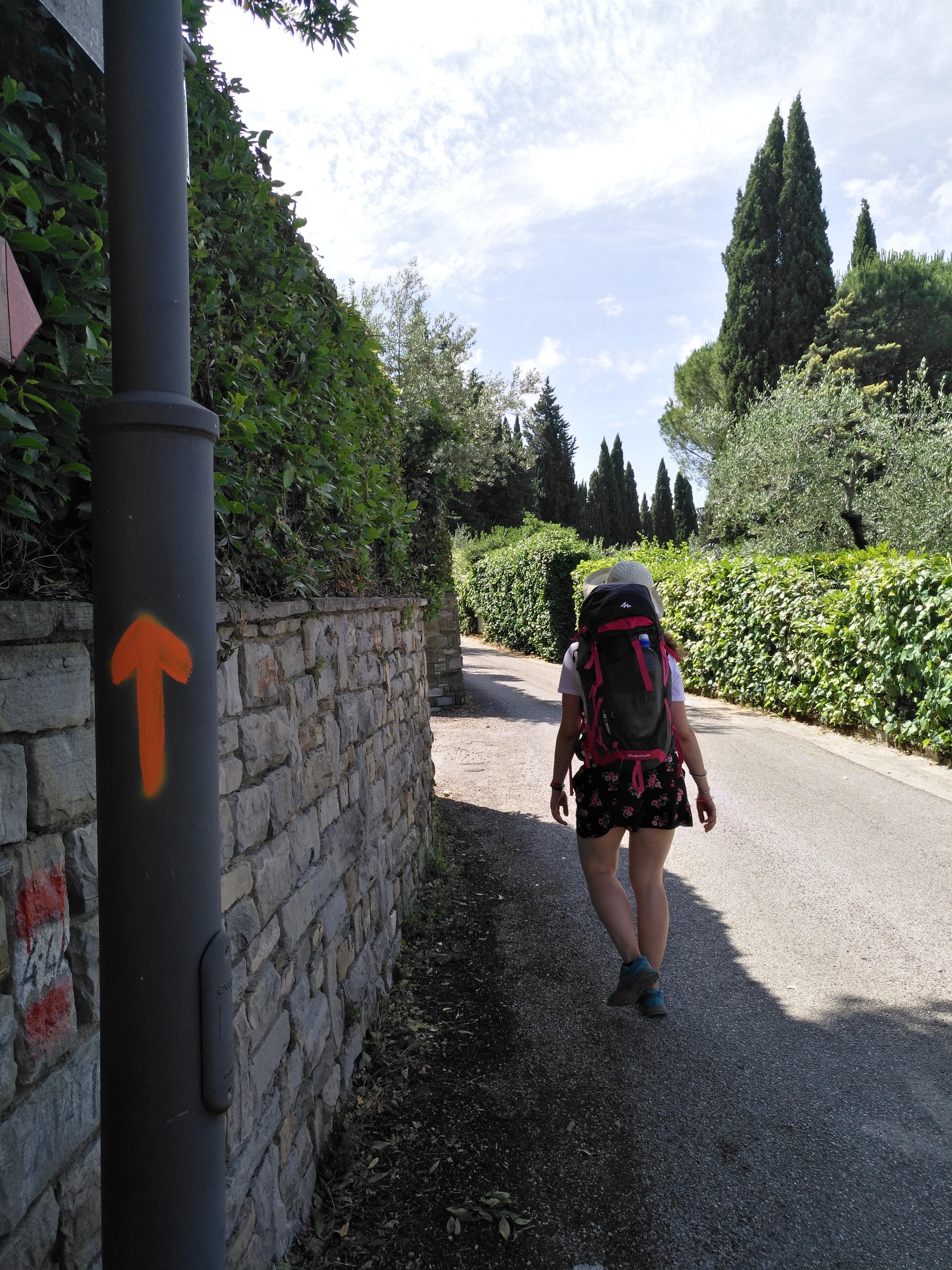 Firenze - Pieve a Pitiana, Via Ghibellina