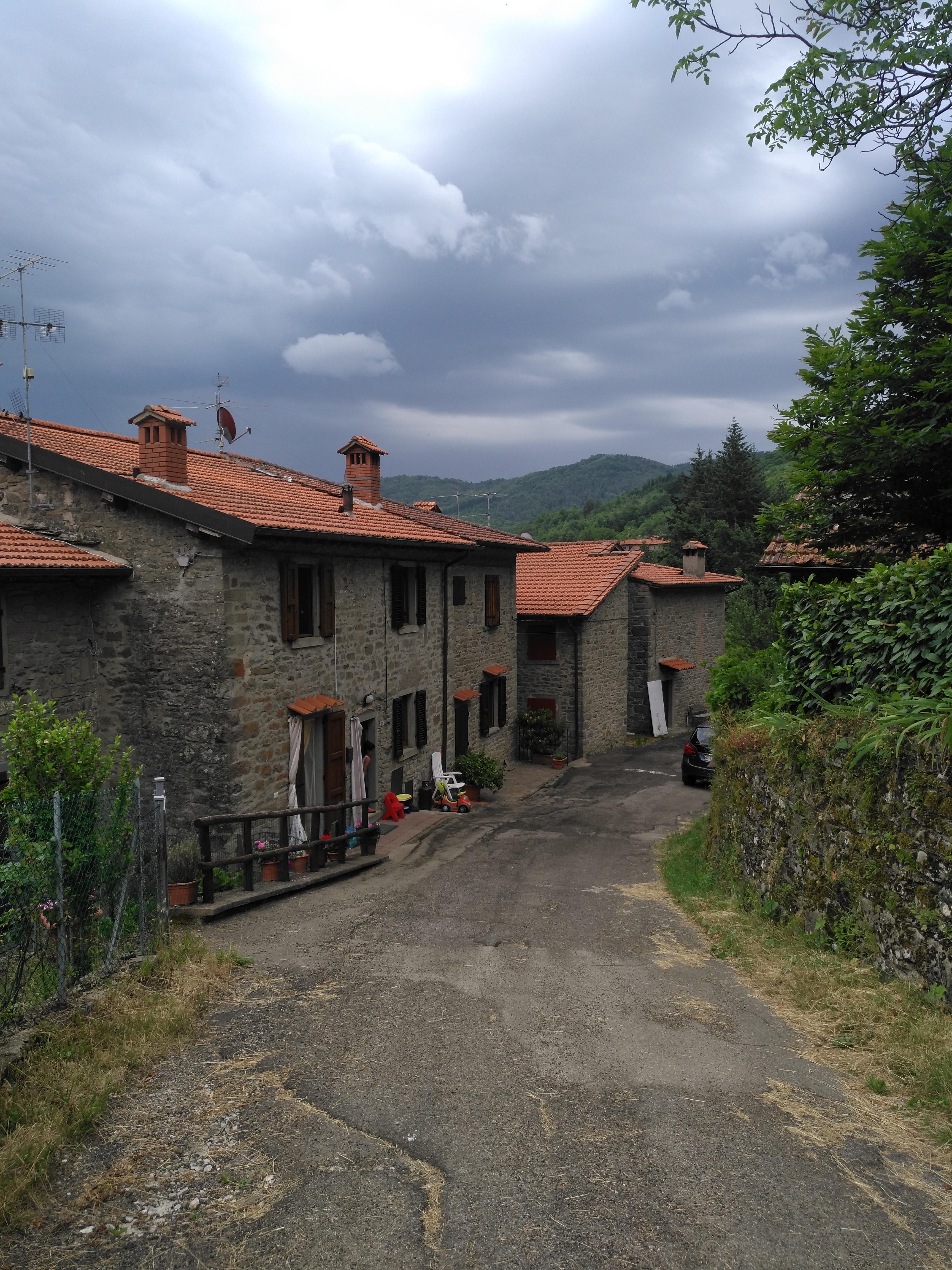 Via Ghibellina - Pieve a Pitiana - Prato di Strada