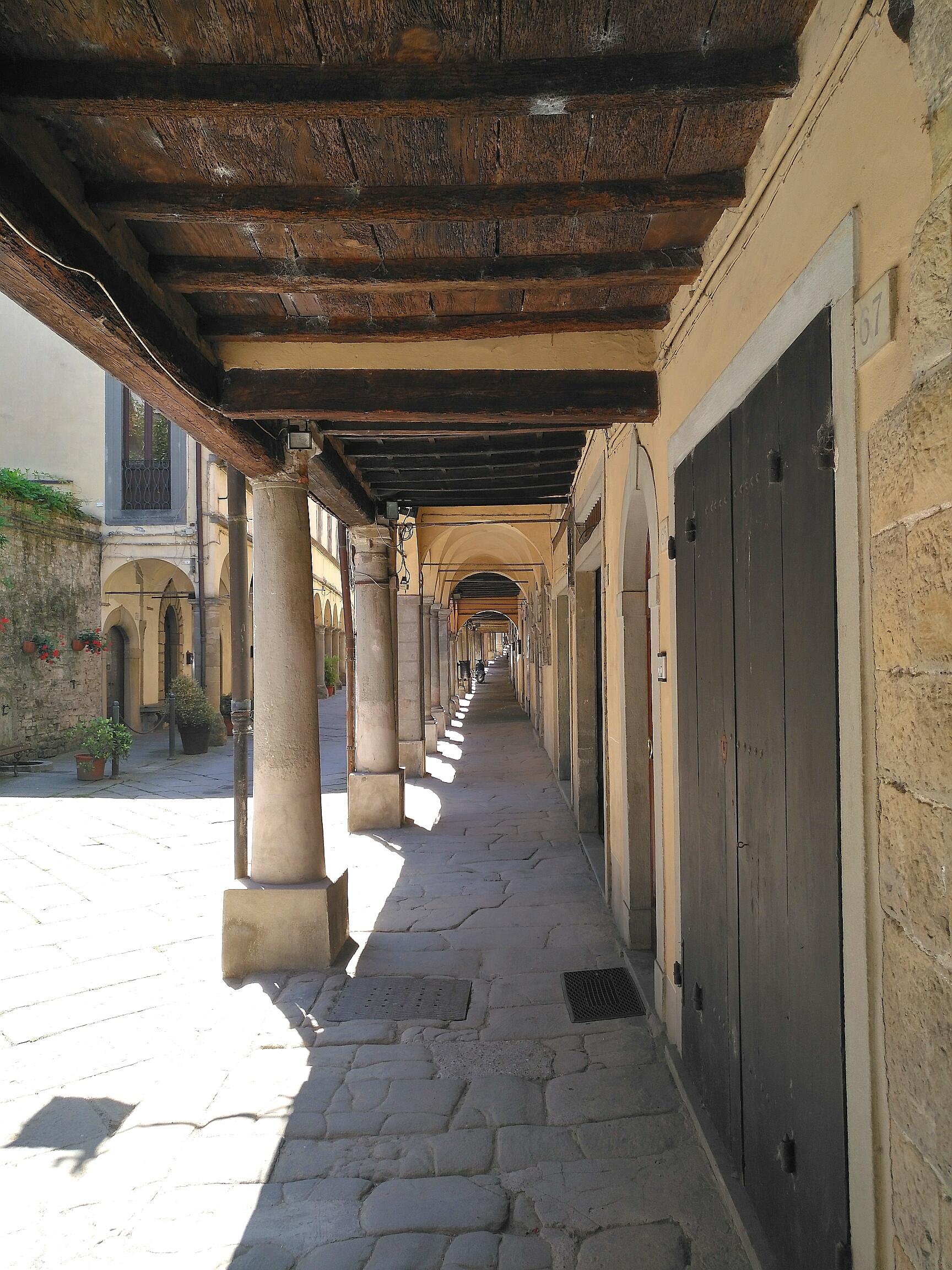 Via Ghibellina. Tappa Prato di Strada - La Verna. Poppi