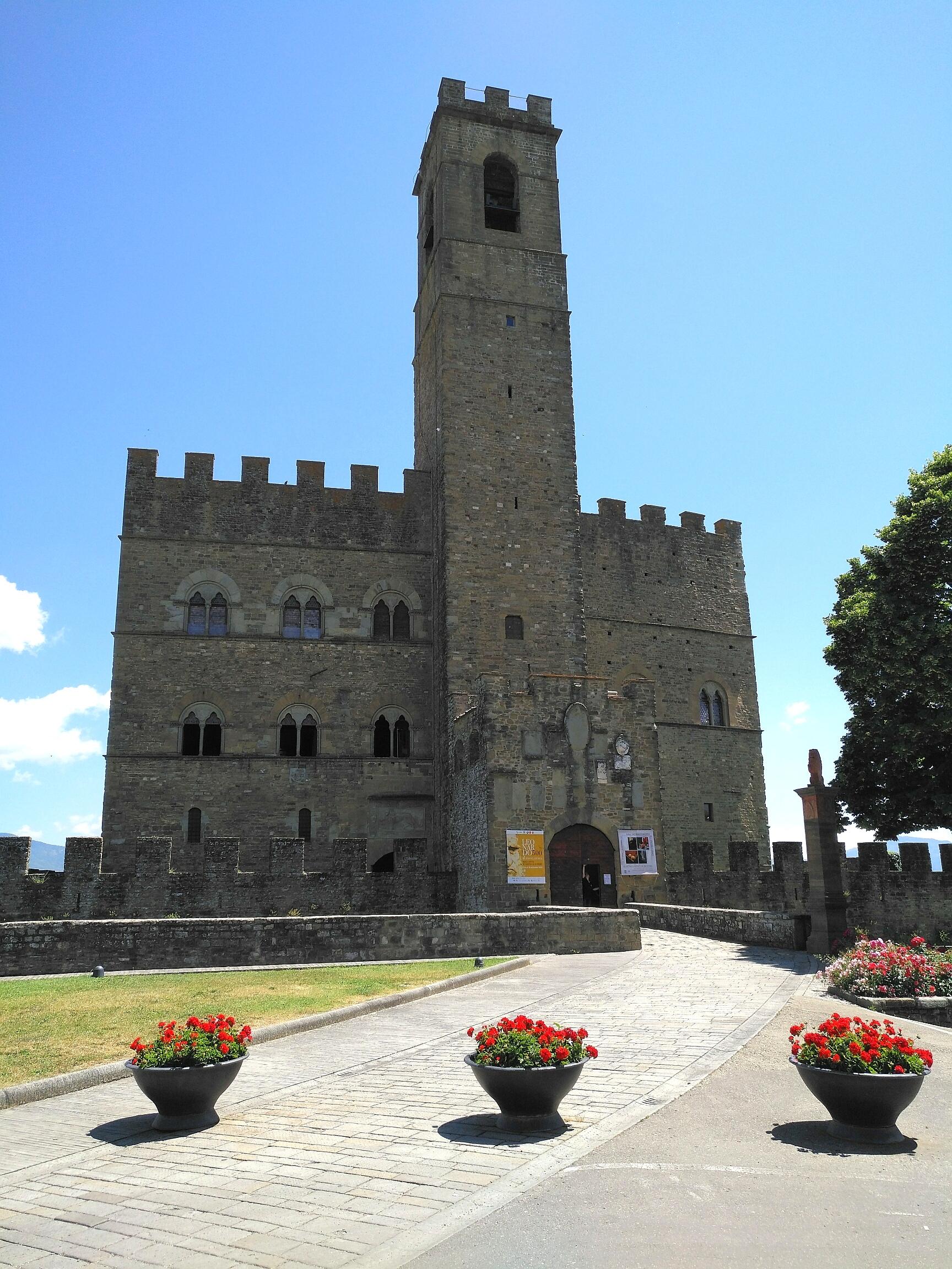 Poppi, Tappa Prato di Strada - La Verna, Via Ghibellina